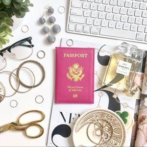 Hot Pink💕Traveller Passport Cover